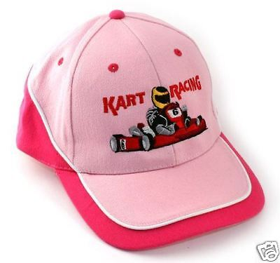 one size fits most Ladies Style Go Kart Racing Hat