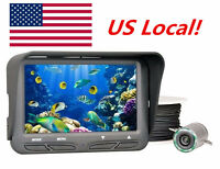 30m 4.3 Color Lcd Ice Fish Finder Underwater Camera Fishing Rod/ground In Us