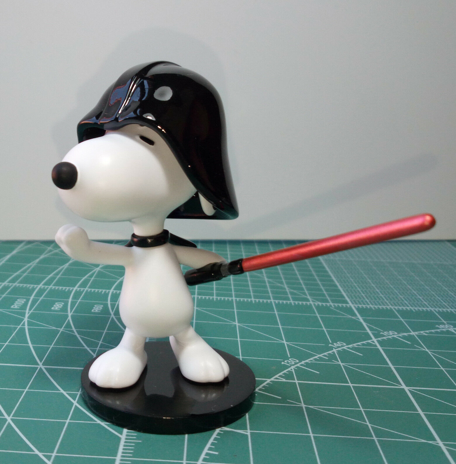 SNOOPY DARTH VADER figure 6cm HAND MADE