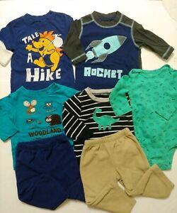 Baby Boys Size 9 Month Clothes Lot Carters Koala Bear Kids Korner Long Sleeve Ebay