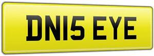 DENISE-YEH-RARE-PERSONALISED-CAR-REG-NUMBER-PLATE-DN15-EYE-ALL-FEES-PAID-DEN