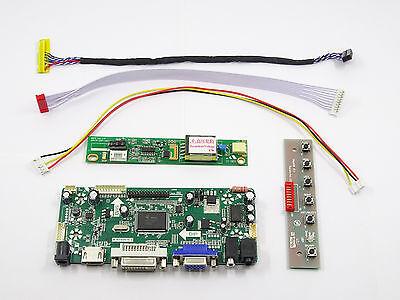 DVI VGA Audio LCD Controller Board driver lvds Kit For LTN184KT01-A01 HDMI