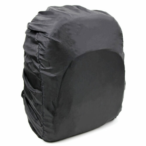 Black Compact Backpack w// Rain Cover for LG PH150G