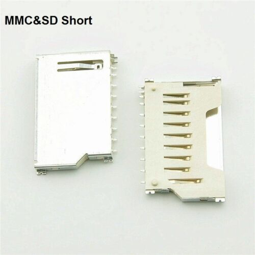 TF// MMC //SD //SIM //Deck Socket Micro Card Memory Card Holder Plastic//Copper IL