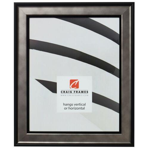 Craig Frames Atlas Antique Pewter w// Black Accents Wall Decor Picture Frames