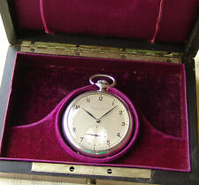 UNIQUE MUSEUM PIECE by IWC for GEORG FISCHER AG WWII p POCKET WATCH circa 1942