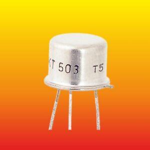 KT503 LOT OF 10 TESLA THYRISTORS 200 V 1 A