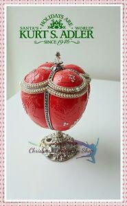 Kurt-039-s-Adler-Polonaise-Faberge-Egg-Trinket-Box-RRP-199-99
