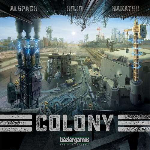 Colony, Boardgame by  Bézier Games, New, English