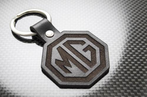 MG Cuir de Luxe Porte-Clés Porte-Clef Porte-Clés MGB Gt Zt ZR Zs Mgf