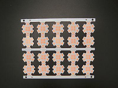 50pc x CREE XPE XPG 1W 3W 5W LED PCB Alu 16mm Round base plate Circuit board DIY