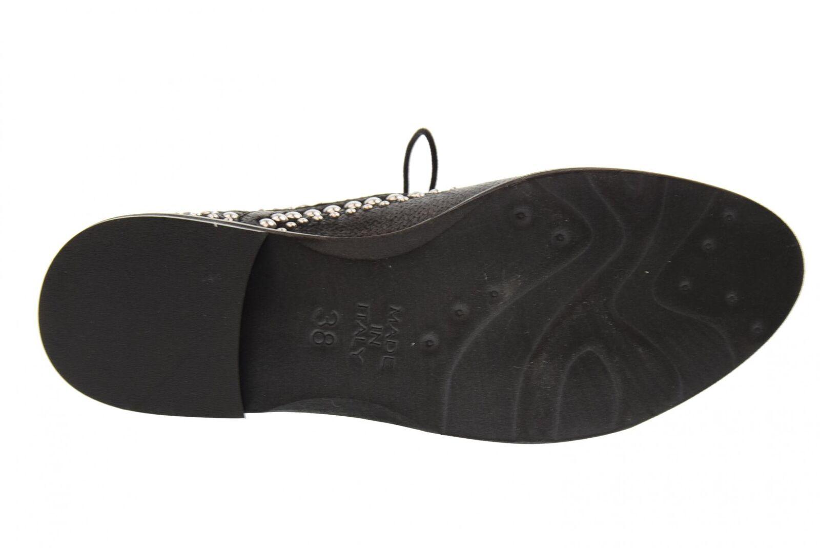 Erman's Damenschuhe Damenschuhe Damenschuhe Spitzen-125 BLACK P18g 05b7e2