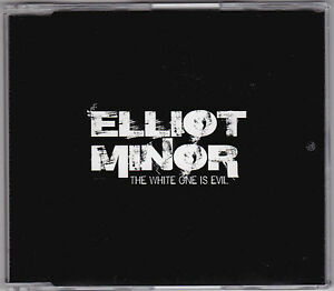 Elliot-Minor-The-White-One-Is-Evil-CD-PRO17022-Promo-Repossession-U-K
