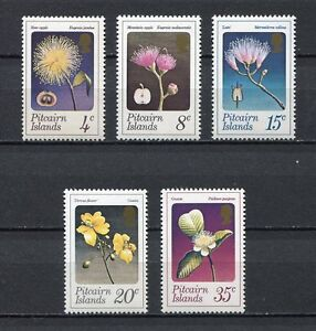 25138) Pitcairn 1973 MNH New Flowers &fruits