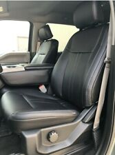 2015 2020 Ford F 150 Xlt Supercab Black Leather Seat Covers Lariat Factory Style Fits Ford F 150