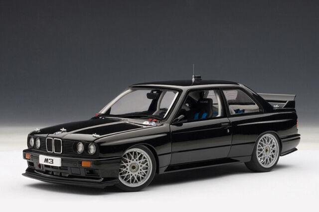 Bmw M3 E30 >> 1 18 Bmw M3 Dtm Sport Evolution E30 Plain Body Version Black Autoart
