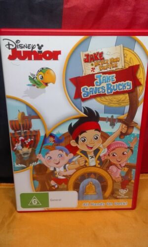 1 of 1 - Jake And The Never Land Pirates - Jake Saves Bucky (DVD, 2013)