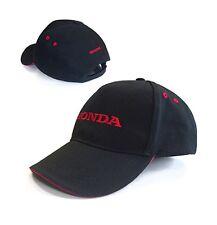 Genuine Honda Black & Red Baseball Cap