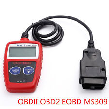 Portable Vehicles OBD2 OBDII EOBD MS309 Fault Code Reader Diagnostic Scanner Kit