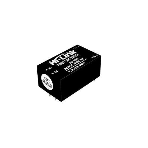 5PCS HLK-PM01 AC-DC 220V to 5V Step-Down Power Supply Module Household Switch