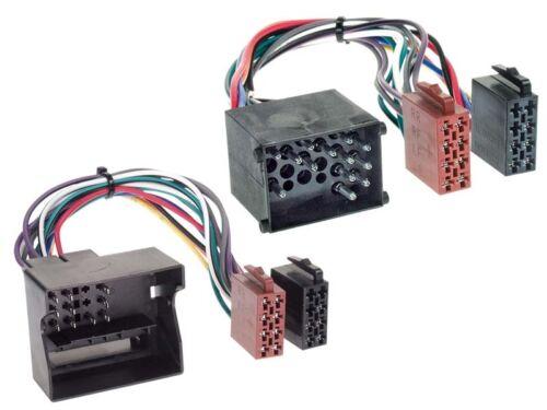 Autorradio kit de integracion 1-din BMW Mini r50 01-06 cable enmarcar negro