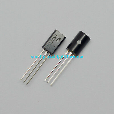 100pcs New 2SC2655 C2655 TOSHIBA NPN Transistor Silicon Epitaxial TO-92L