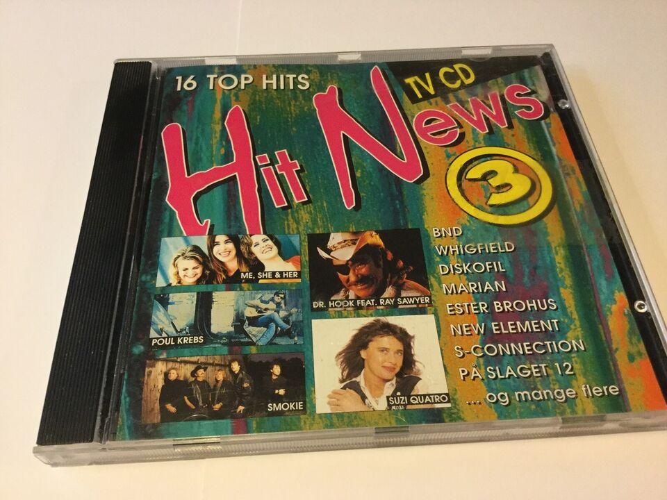 Diverse kunstnere: Hit News 3, pop