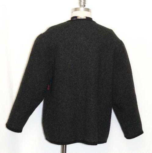 bouillie laine Veste et en Cardigan allemand 16 pull noire rouge d'hiver 741587280354 pièces w6HqSRqx