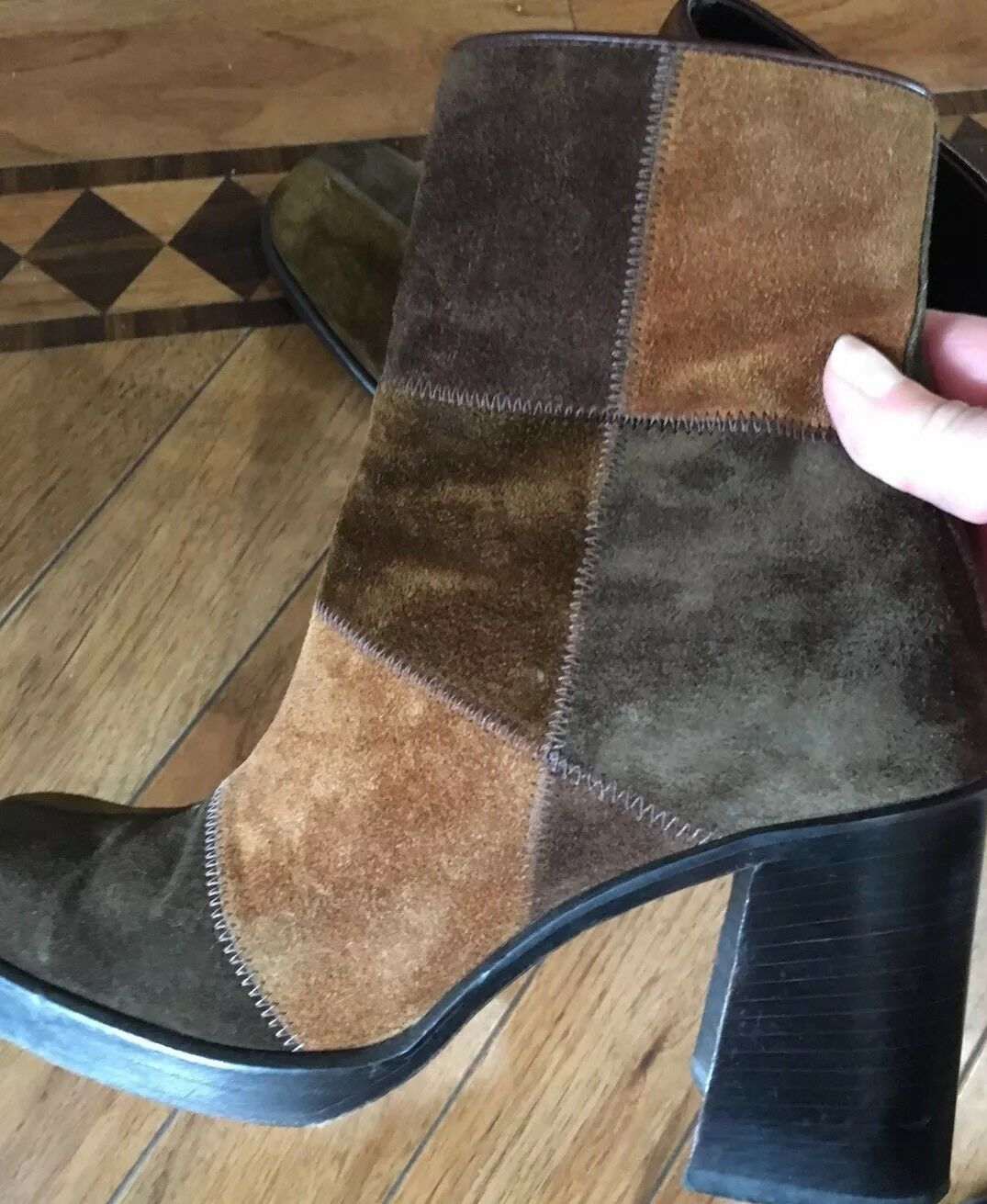 Vintage 70's Style pied a terre Stiefel 5