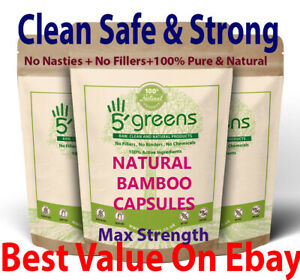 100% quality cozy fresh speical offer Dettagli su Silice Organica Silicio Capsule 500 mg Estratto di Bambù  Capelli Unghie Pelle Salute- mostra il titolo originale
