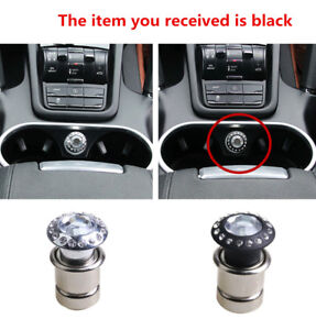Details about Luxury Style 1PC Crystal Rhinestones Auto Car Cigarette  Lighter Car Accessories