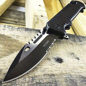 "9"" TAC-FORCE SPEAR POINT SPRING ASSISTED TACTICAL FOLDING POCKET KNIFE EDC Blade"