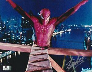 STAN LEE Signed Autographed SPIDER-MAN 8x10 PHOTO Marvel Comics Spiderman GLOBAL