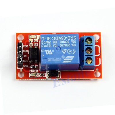 1PC New Optocoupler Relay Module for Arduino 5V 1-Channel H/L Level Triger