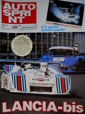 Autosprint 22 1982 La Lancia conquista il Nuerburgring. Patrese. La F.3  SC.51