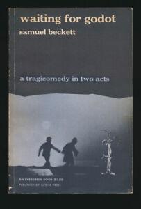 Samuel Beckett Waiting for Godot 1954 First Edition Grove Press