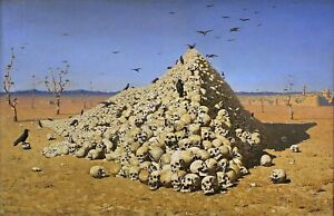 The-Apotheosis-of-War-by-Russian-Vasily-Vereshchagin-Repro-on-Canvas-or-Paper