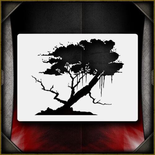Oak Tree 2 Airbrush Stencil Template Airsick