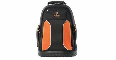 40 Pocket Heavy Duty Jobsite Tool Bag Perfec... Rugged Tools Pro Tool Backpack
