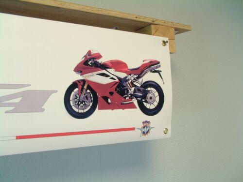 MV Augusta F4 BANNER Motorcycle Show Workshop Garage Club Display