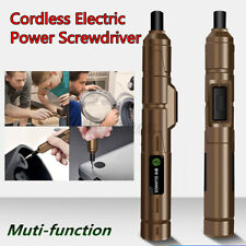Mini Lithium Cordless DC 3.6V Electric Power Screwdriver Tool Kit With USB