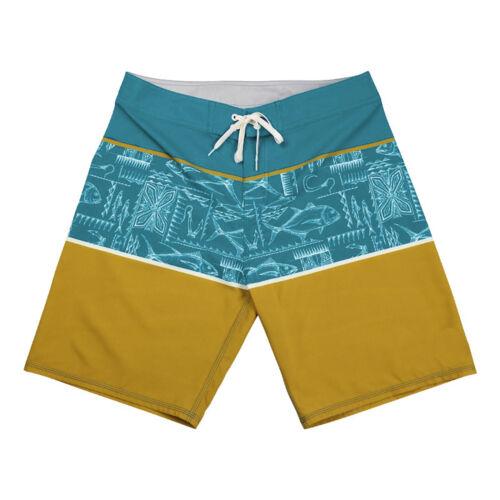 Island Daze Mens Lure 4 Way Stretch Board Shorts