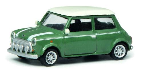 Schuco 1:87 452639200 Mini Cooper grün weiß NEU OVP