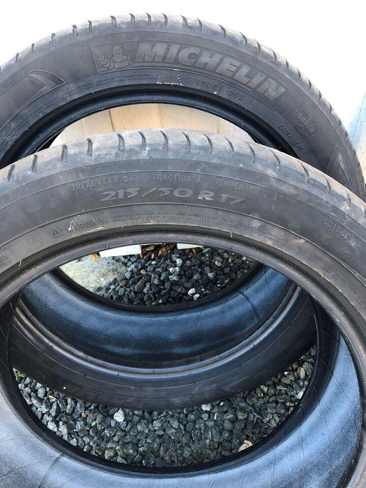 Sommerdæk, Michelin, 3/eller4 mm mønster