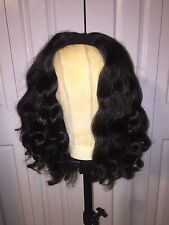 14 inch Human Hair U-Part Wig