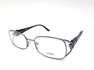 450-Fendi-Womens-Black-Eyeglasses-Clear-Lens-Italy-Frames-Ff-Glasses-F872-035