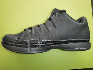 calzature imbattuto x migliori scarpe da ginnastica Details about NIKE ZOOM VAPOR 9.5 TOUR TENNIS SHOES SIZE 6,6.5 I.D TRIPLE  BLACK Roger Federer