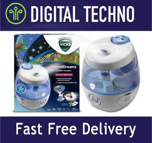 NIB Vicks Sweet Dreams Cool Mist Ultrasonic Humidifier VUL575, Quiet, 1 Gallon