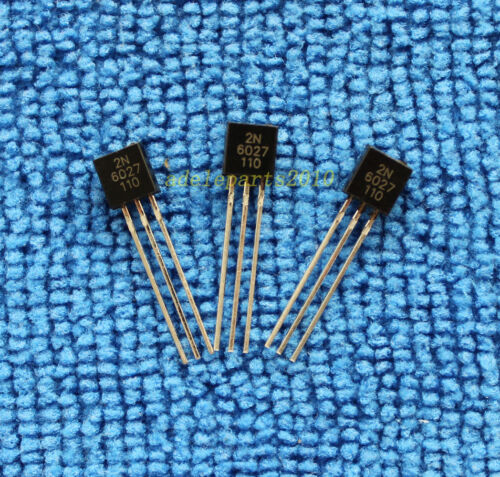 10pcs 2N6027 New and ORIGINAL Programmable Unijunction Transistors