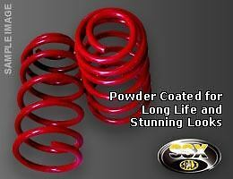 S031014 SPAX LOWERING SPRINGS fit Renault  Clio II 1.1; 1.4+16V; 1.6+16V + 98-12